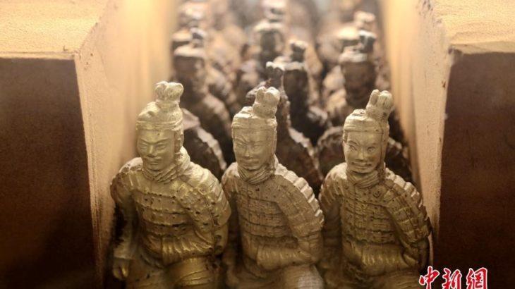 「兵馬俑チョコレート」が人気