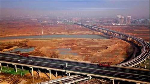 河新城で「二橋一路」が開通 西安市北部の交通が「15分圏内」に