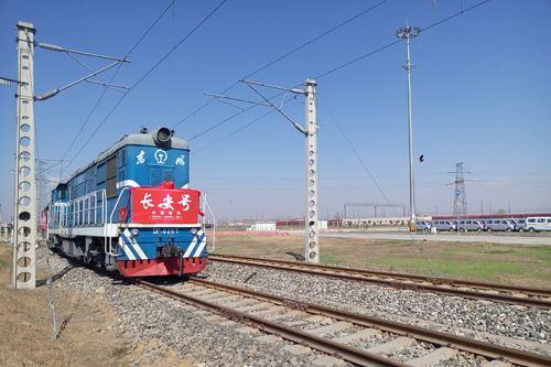 【新時代に奮闘した70年間】西安国際港務区:中欧班列「長安号」の運行が陝西省の改革開放を後押し