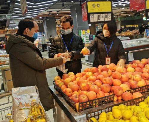 長安区が食品安全抜取検査を実施 食の安全を確保