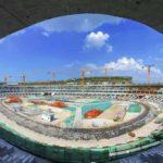 西安オリンピックスタジアム:急ピッチで工事再開