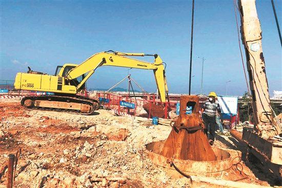 プロジェクト竣工を予定通りに 急ピッチで進む工事再開