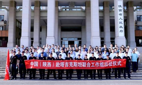 中国(陝西)タジキスタン共同作業部会がタジキスタン衛生省と交流