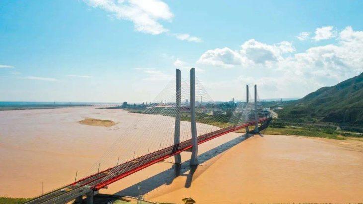 国道108線の韓城禹門口黄河公路大橋が開通