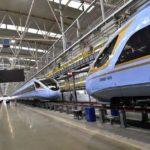 CR300BF型「復興号」が銀西高速鉄道に正式に「就任」