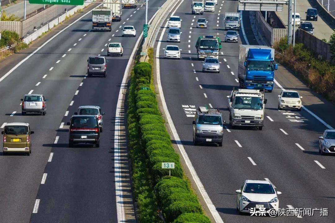 「五一」連休期間の陝西省の高速道路交通量は約1017万台