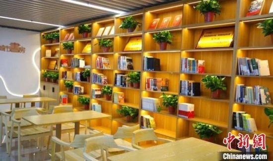 陝西省西咸新区灃西新城に初のスマート図書館「城市書房」がオープン